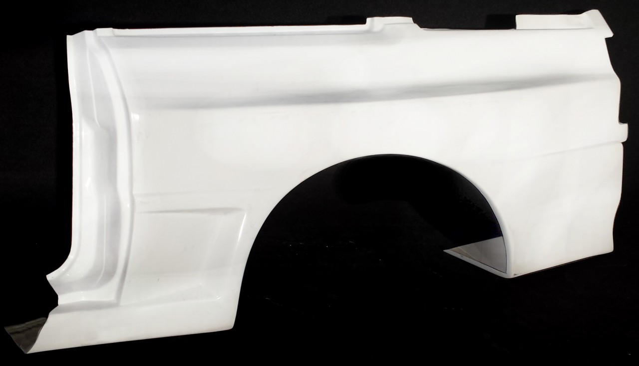 Seitenwand Sportquattro / rear quarter panel Sportquattro