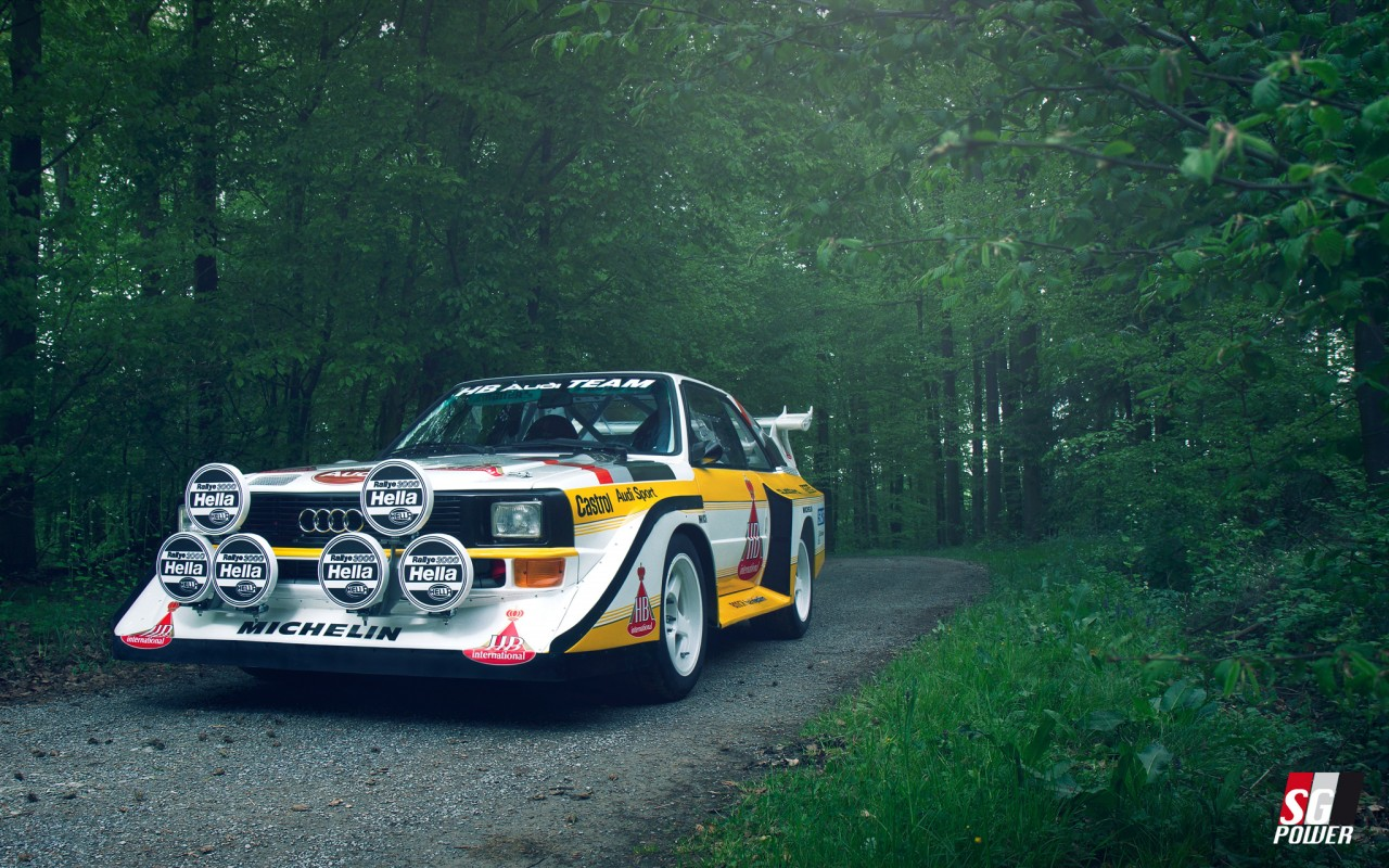 Audi quattro nach Wunsch